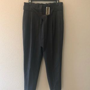 NWT J.Crew Charcoal Gray Lined Trousers